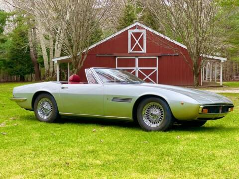 1970 Maserati Ghibli for sale at Gullwing Motor Cars Inc in Astoria NY