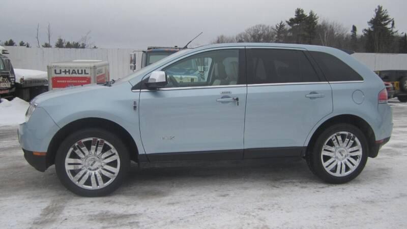 2008 Lincoln MKX for sale at Pepp Motors - Superior Auto in Negaunee MI
