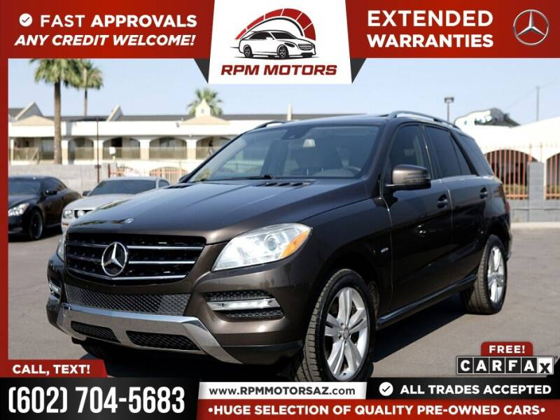 2012 Mercedes-Benz M-Class for sale in Phoenix, AZ