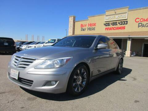 2009 Hyundai Genesis for sale at Import Motors in Bethany OK