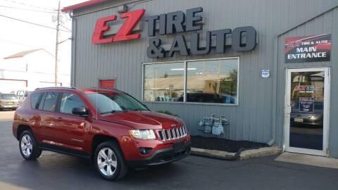 2013 Jeep Compass for sale at EZ Tire & Auto in North Tonawanda NY
