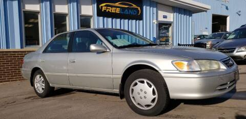2001 Toyota Camry for sale at Freeland LLC in Waukesha WI