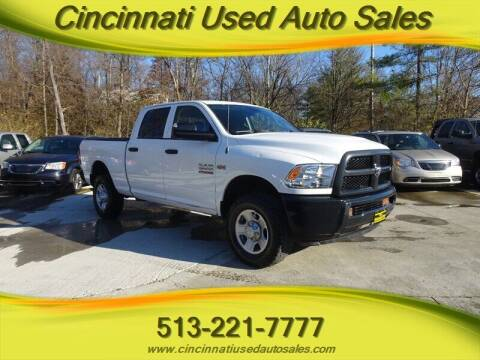 2015 RAM Ram Pickup 2500 for sale at Cincinnati Used Auto Sales in Cincinnati OH