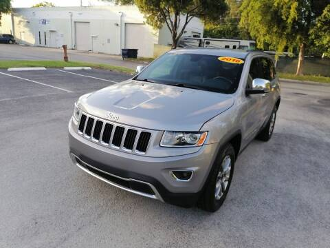 2016 Jeep Grand Cherokee for sale at Best Price Car Dealer in Hallandale Beach FL