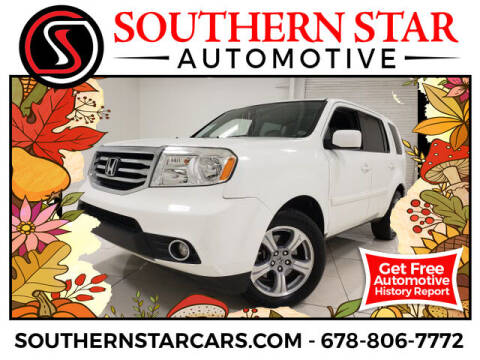 2014 Honda Pilot for sale at Southern Star Automotive, Inc. in Duluth GA