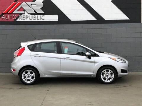 2016 Ford Fiesta for sale at Auto Republic Fullerton in Fullerton CA