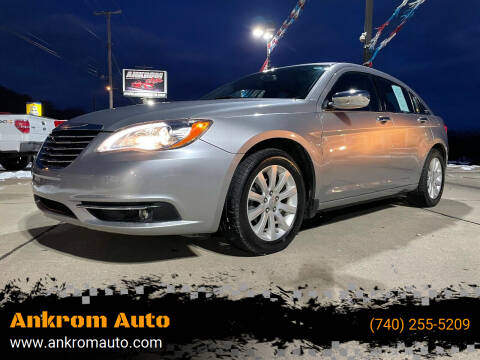 2013 Chrysler 200 for sale at Ankrom Auto in Cambridge OH