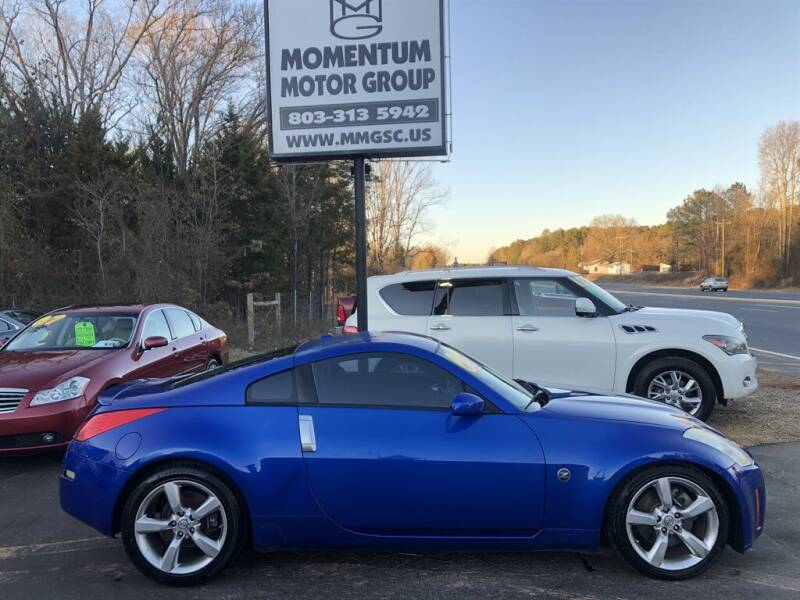 2007 Nissan 350Z for sale at Momentum Motor Group in Lancaster SC