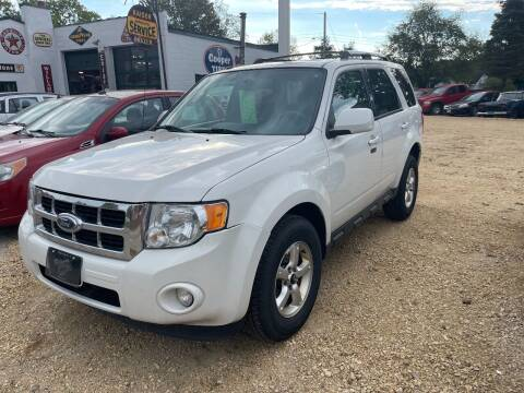 2011 Ford Escape for sale at Nelson's Straightline Auto - 23923 Burrows Rd in Independence WI