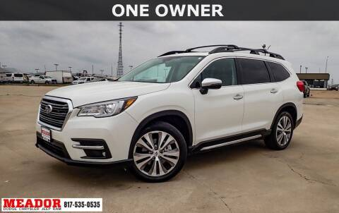 2020 Subaru Ascent for sale at Meador Dodge Chrysler Jeep RAM in Fort Worth TX