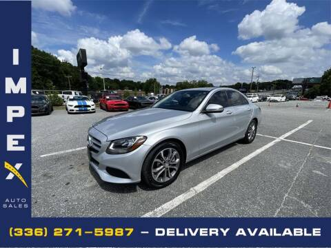 2016 Mercedes-Benz C-Class for sale at Impex Auto Sales in Greensboro NC