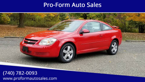 2009 Chevrolet Cobalt for sale at Pro-Form Auto Sales in Belmont OH