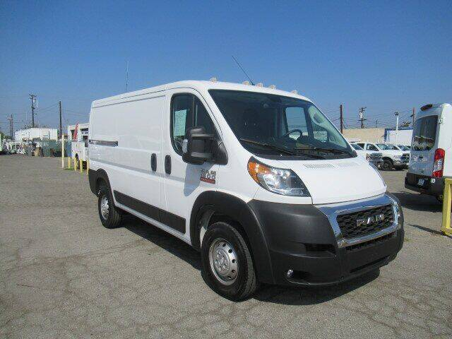 2021 RAM ProMaster Cargo for sale at Atlantis Auto Sales in La Puente CA