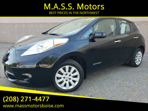 2017 Nissan LEAF for sale at M.A.S.S. Motors in Boise ID