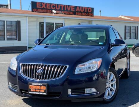 2012 Buick Regal for sale at Executive Auto in Winchester VA