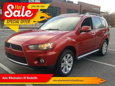 2010 Mitsubishi Outlander for sale at Auto Wholesalers Of Rockville in Rockville MD