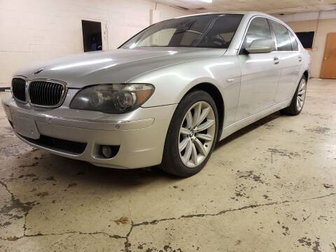 2008 BMW 7 Series for sale at ZNM Motors in Irving TX