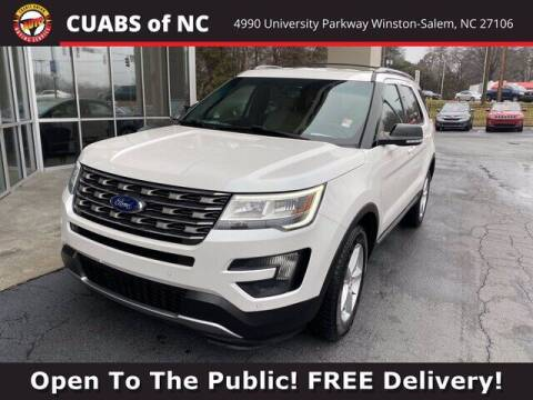 2016 Ford Explorer for sale at Credit Union Auto Buying Service in Winston Salem NC