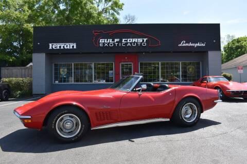 1972 Chevrolet Corvette for sale at Gulf Coast Exotic Auto in Biloxi MS