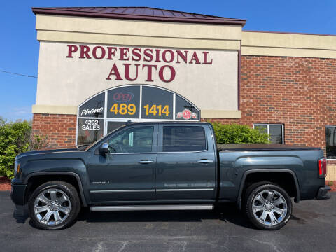 2017 GMC Sierra 1500 for sale at Professional Auto Sales & Service in Fort Wayne IN