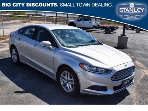 2016 Ford Fusion for sale at STANLEY FORD ANDREWS Buy Here Pay Here in Andrews TX