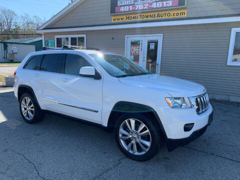2013 Jeep Grand Cherokee for sale at Home Towne Auto Sales in North Smithfield RI