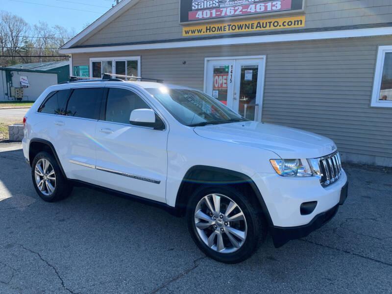 2013 Jeep Grand Cherokee for sale at Home Towne Auto Sales in North Smithfield RI