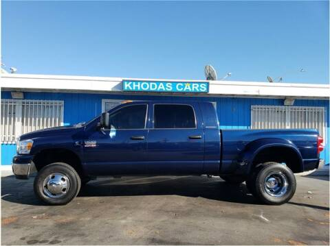 2007 Dodge Ram Pickup 3500 for sale at Khodas Cars in Gilroy CA