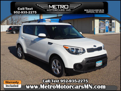 2018 Kia Soul for sale at Metro Motorcars Inc in Hopkins MN