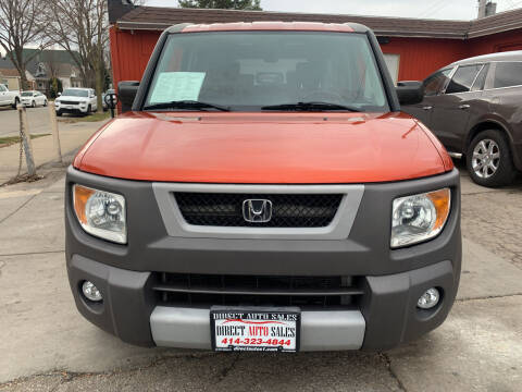2004 Honda Element for sale at Direct Auto Sales in Milwaukee WI