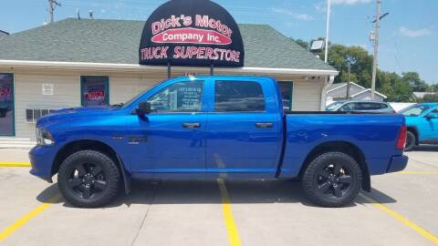2019 RAM Ram Pickup 1500 Classic for sale at DICK'S MOTOR CO INC in Grand Island NE