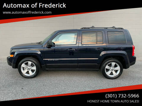 2011 Jeep Patriot for sale at Automax of Frederick in Frederick MD