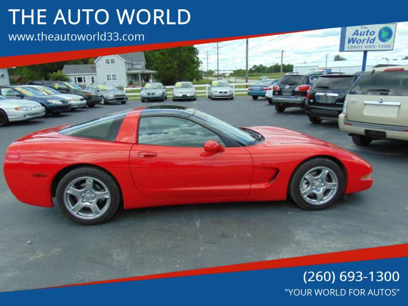 1999 Chevrolet Corvette for sale at THE AUTO WORLD in Churubusco IN