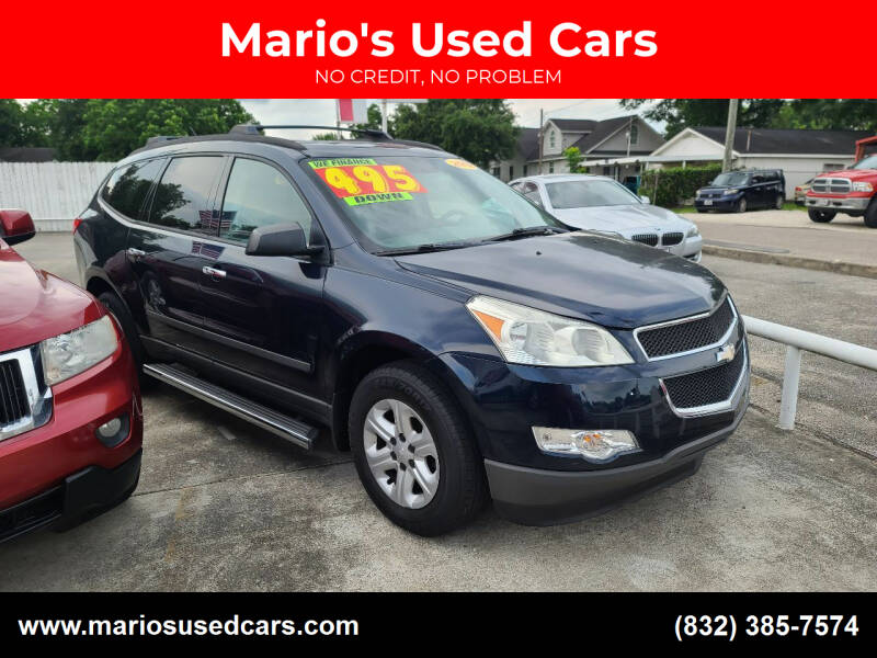 2012 Chevrolet Traverse for sale at Mario's Used Cars - South Houston Location in South Houston TX