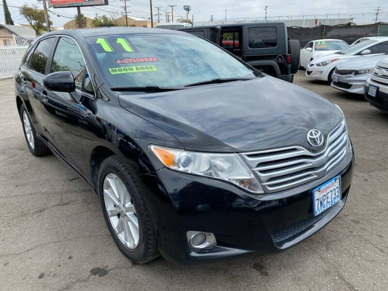 2011 Toyota Venza for sale at CAR GENERATION CENTER, INC. in Los Angeles CA