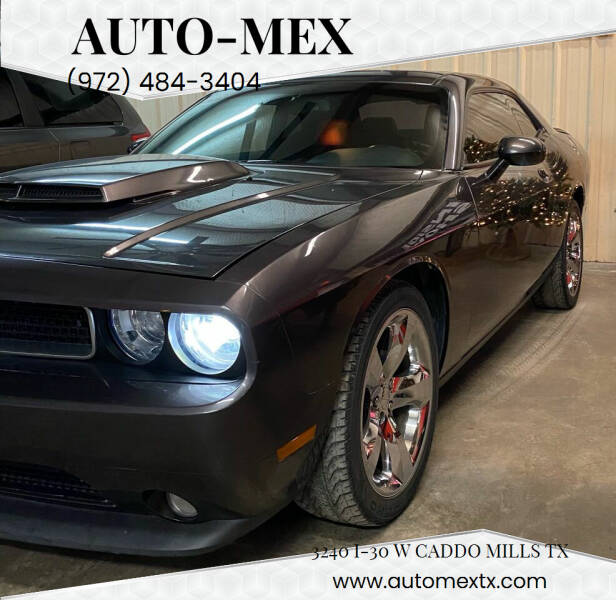 2014 Dodge Challenger for sale at AUTO-MEX in Caddo Mills TX