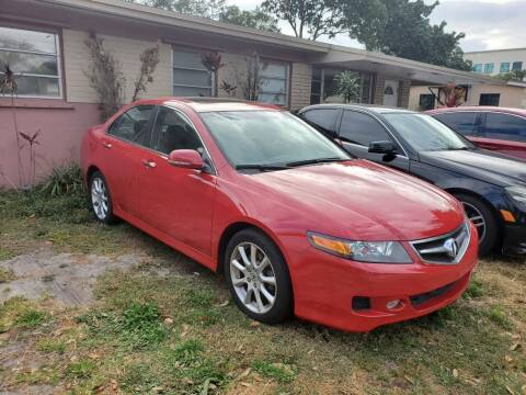 2008 Acura TSX for sale at All Around Automotive Inc in Hollywood FL