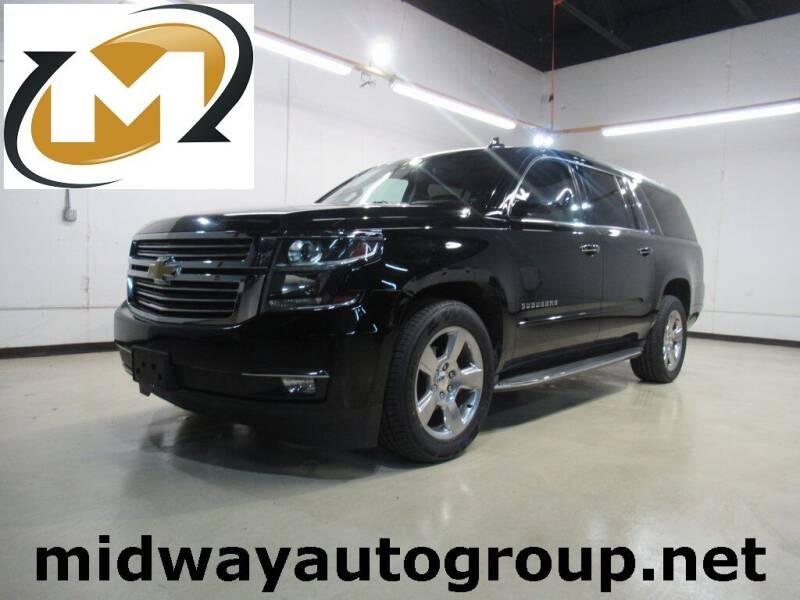 2016 Chevrolet Suburban for sale at Midway Auto Group in Addison TX