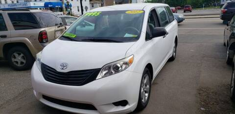 2012 Toyota Sienna for sale at TC Auto Repair and Sales Inc in Abington MA