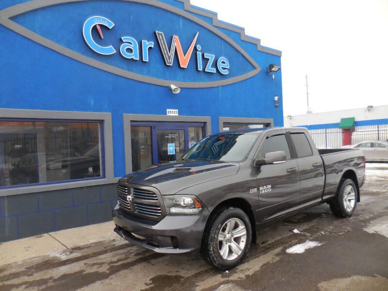 2014 RAM Ram Pickup 1500 for sale at Carwize in Detroit MI