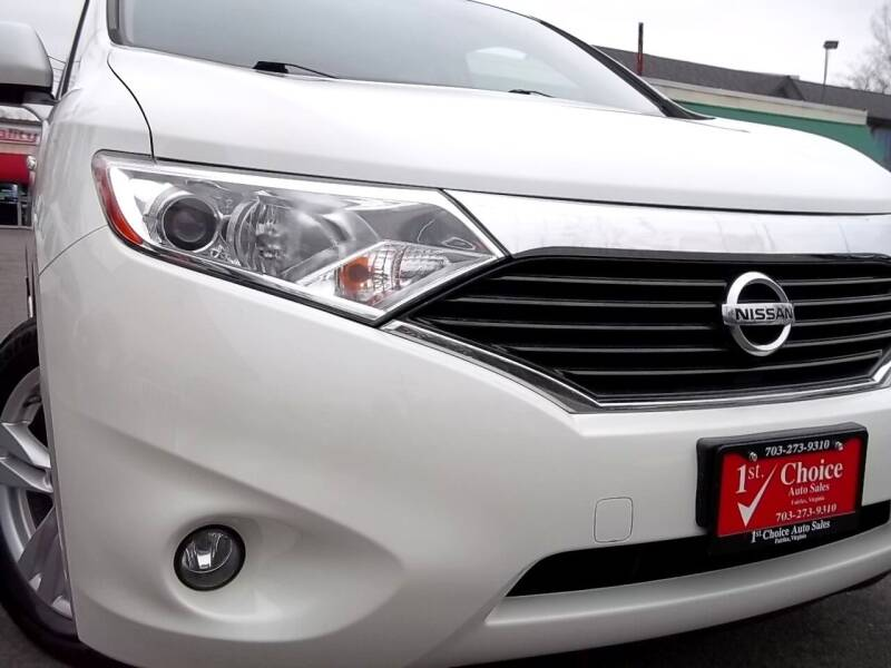 2012 Nissan Quest for sale at 1st Choice Auto Sales in Fairfax VA
