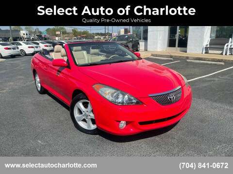 2006 Toyota Camry Solara for sale at Select Auto of Charlotte in Matthews NC