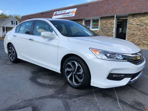 2016 Honda Accord for sale at Approved Motors in Dillonvale OH