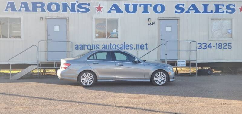2009 Mercedes-Benz C-Class for sale at Aaron's Auto Sales in Corpus Christi TX