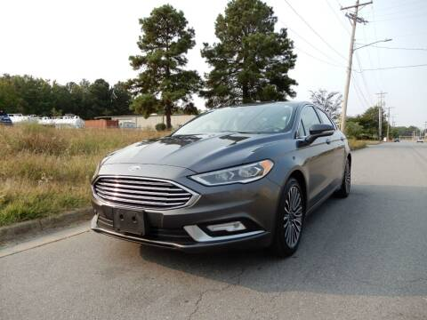 2017 Ford Fusion for sale at United Traders Inc. in North Little Rock AR