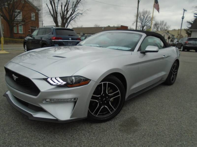 2018 Ford Mustang for sale at Total Eclipse Auto Sales & Service in Red Bud IL