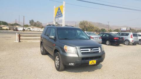 2007 Honda Pilot for sale at Auto Depot in Carson City NV