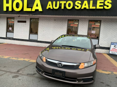 2012 Honda Civic for sale at HOLA AUTO SALES CHAMBLEE- BUY HERE PAY HERE - in Atlanta GA