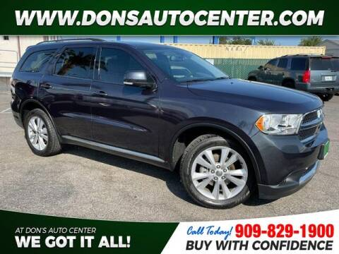 2012 Dodge Durango for sale at Dons Auto Center in Fontana CA