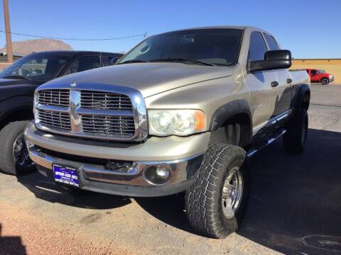 2005 Dodge Ram Pickup 2500 for sale at SPEND-LESS AUTO in Kingman AZ